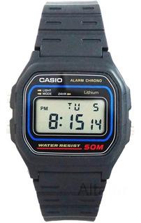 1. Reloj Casio W 59 Sumergible Digital Alarma Luz Cronometro