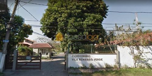 Terreno À Venda, 1330 M² - Condomínio De Alto Padrão Em Pendotiba - Niterói/rj - Te0094
