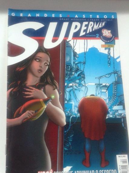 Hq - Gibi - Grandes Astros Superman Nº 2