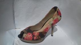 Sapato Salto Alto Vizzano Floral 37