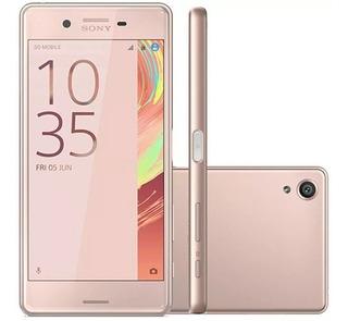 Smartphone Sony Xperia X F5122 64gb Tela 5 Dual Chip