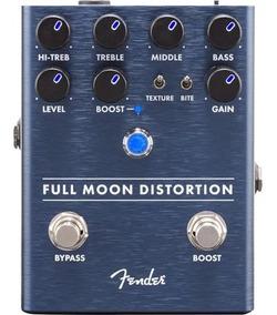 Pedal Fender Para Guitarra Full Moon Distortion + Nf