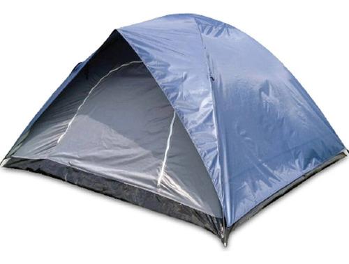 Barraca Camping Impermeável Montana 2 Pessoas Azul Echolife