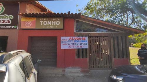 Aluga Restaurante Montado No Centro De Casa Branca - 2130