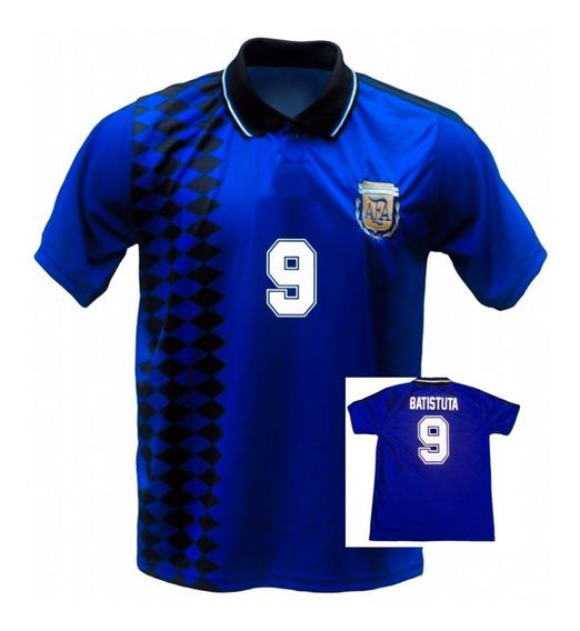 Camiseta Batistuta Caniggia Redondo Argentina 1994 Retro