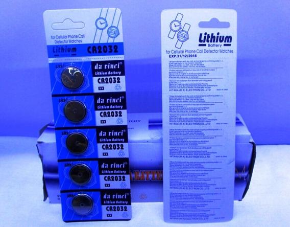 Bateria Cartela 5 Unidades Pilha Cmos Bios Setup Placa Mãe