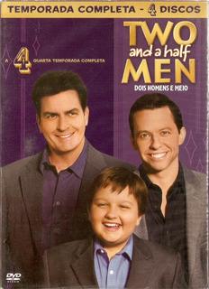 Box Dvd Two And A Half Men - Dois Homens E Meio - Novo***