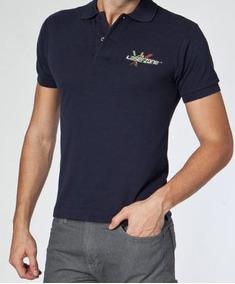 73fefac1c Camisa Polo Masculina Bordada Simbolo - Calçados
