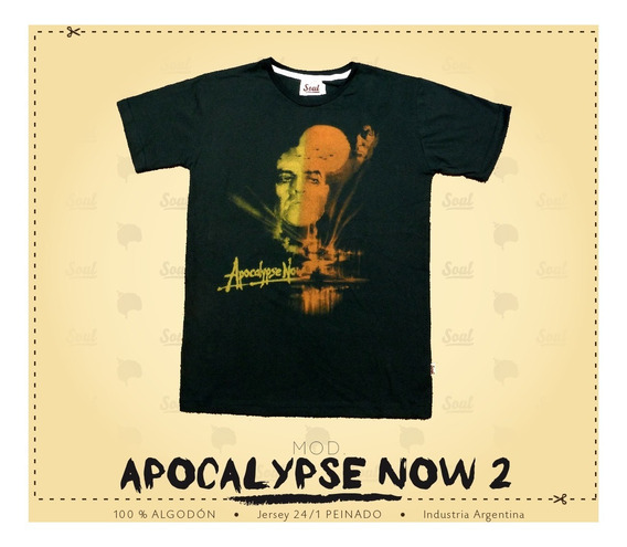 Remera Soul - Mod. Apocalypse Now
