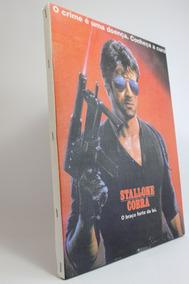 Quadro Stallone Cobra Impressão Em Canvas 30x40
