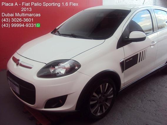 Fiat Palio Sporting 1.6 Flex - Top De Linha - Placa A - 2013