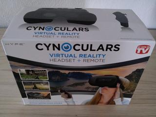 Lentes De Realidad Virtual Cynoculars Headset + Remote