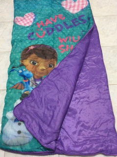 Bolsa Dormir Infantil Doctora Juguetes Disney Sleeping Bag