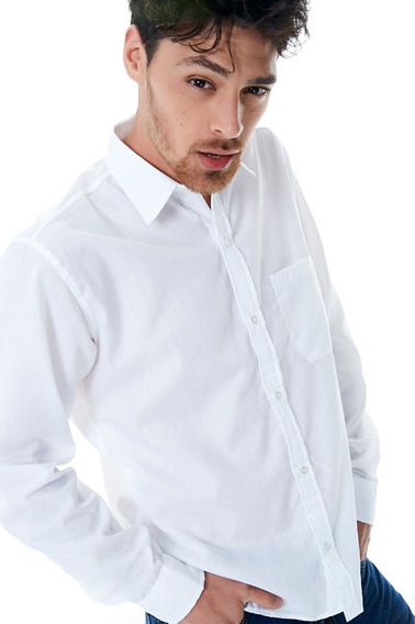 Camisa Batista Manga Larga Esp Rogers Somos Fabricantes!!!