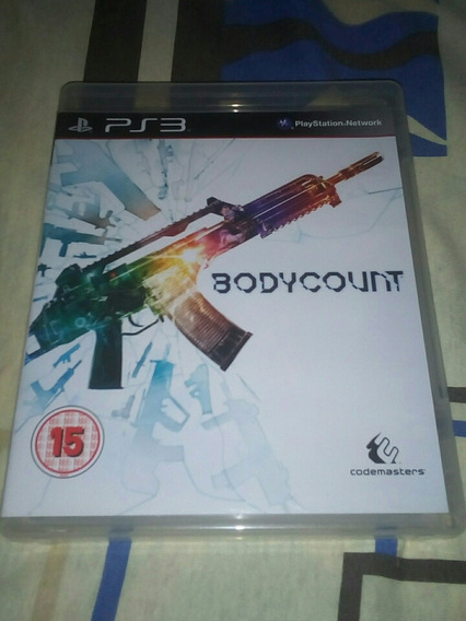Body Count Ps3 Playstation 3