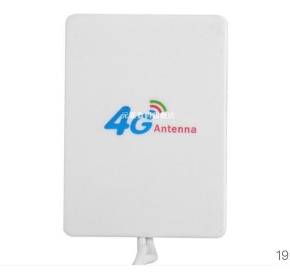 Antena Internet Bam 28 Dbi 3g 4g Lte Con Doble Conector Ts9