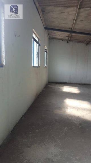 Galpão Para Alugar, 300 M² Por R$ 4.000/mês - Jardim Sílvia Maria - Mauá/sp - Ga0640