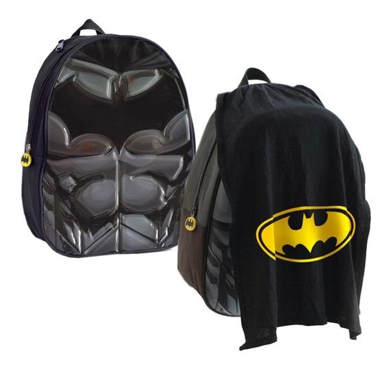 Mochila Espalda Jardin 13p Batman Superman Flash Maravilla