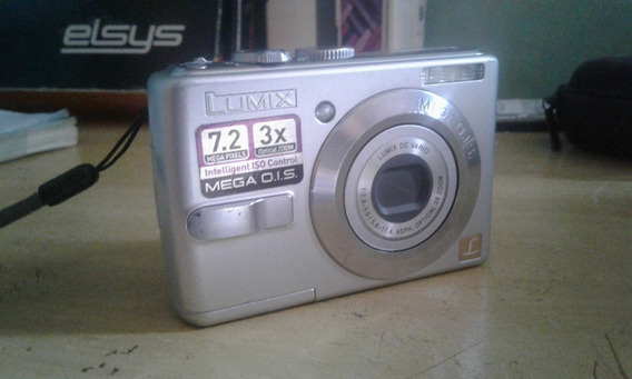 Câmera Panasonic Dmc-ls70+camera-bag(leia O Anúncio)