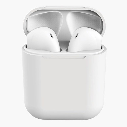 Fone Bluetooth Tws Macaron 12 Branco Android E Ios