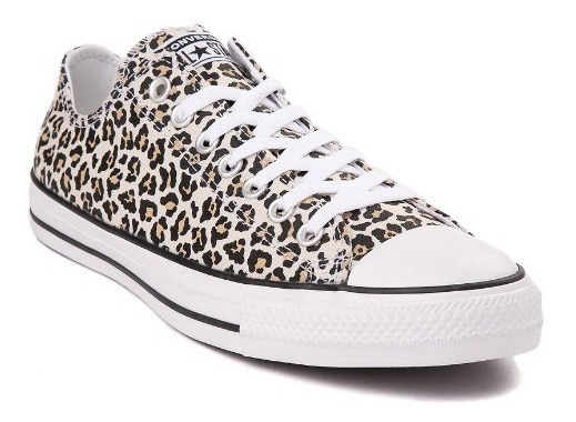 Tenis Converse Mod. 399717 Leopardo Unisex Sobre Pedido / J