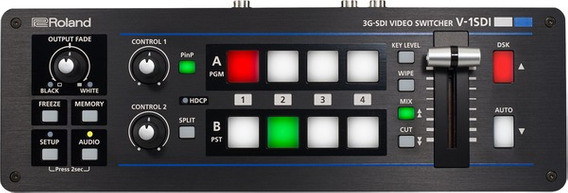 Switcher Video Roland V 1sdi 4 Canais V-1sdi Garantia 1ano