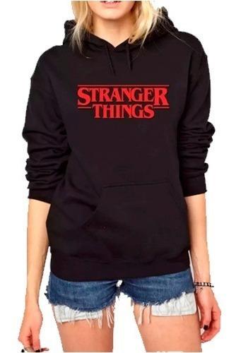 Moletom Agasalho Stranger Things Unissex Blusa De Frio