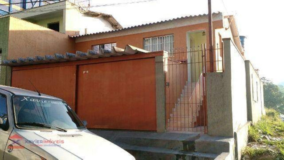 Linda Casa Em Bairro Com Ótima Localização - Ca0351