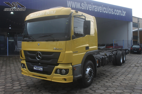 Mercedes Benz Atego 2430 - Ano: 2017 - Chassi - Bx Km