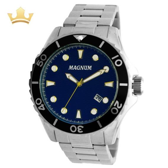 Relógio Magnum Masculino Ma35011f Com Nf