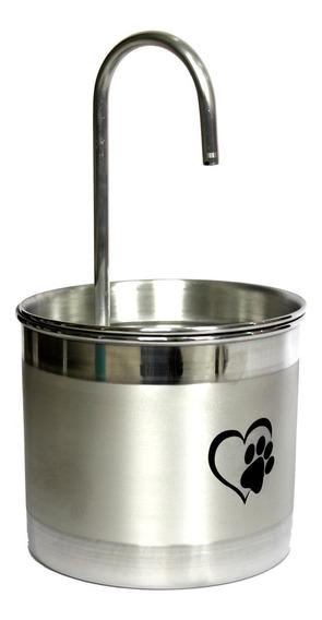 Bebedouro Para Gato Fonte De Água Gato Em Alumínio Promoção