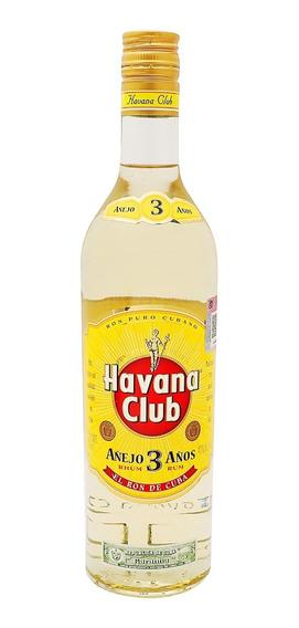 Ron Havana Club 3 Años De 700ml.