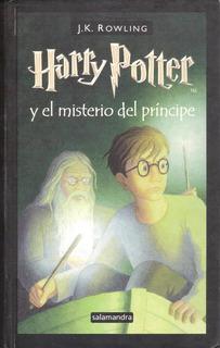 Libro Harry Potter Y El Misterio Del Príncipe, 4 Vds.