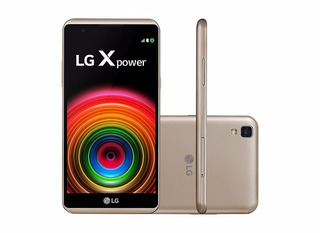 Lg X Power K220 - Dual, Tela 5.3 16gb, 13mp, 4g - De Vitrine