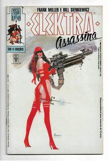 Elektra: 4 Revistas Hq