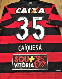 Camisa Vitória Ba Usada Em Jogo Brasileirão 2017