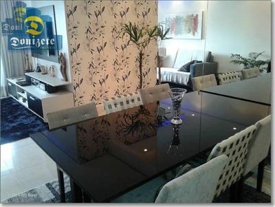 Apartamento Com 3 Dormitórios À Venda, 92 M² Por R$ 550.000 - Vila Assunção - Santo André/sp - Ap6291