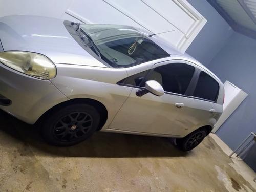 Punto Fiat 2008 Prata Completo 1.4 Dor E Flex