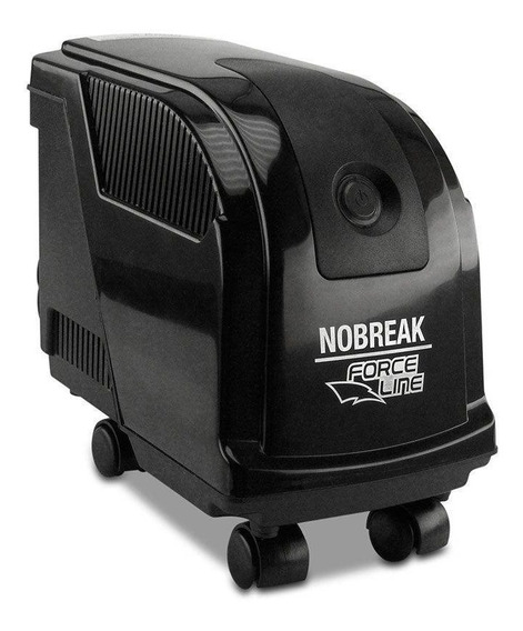 Nobreak Office Security 700va Preto Bivolt Force Line