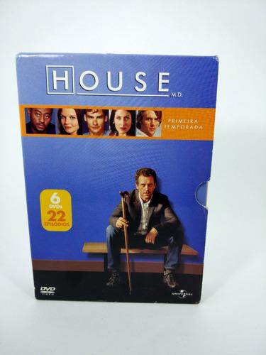 Dr House Original Primeira Temporada Completa Box 6 Dvds
