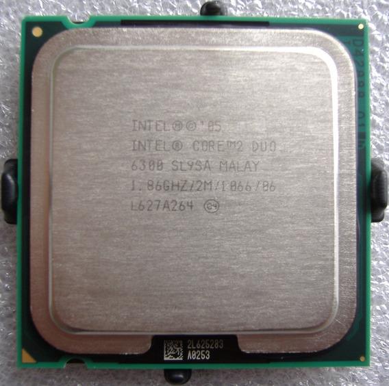 Intel Core 2 Duo E6300 2m Cache, 1.83 Ghz, 1066 Mhz Fsb