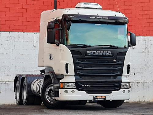 Scania R440 A 6x4 Optcruise Pouco Rodadaar Condicionado