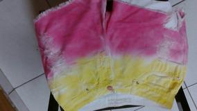 Shorts Tie Dye Bebela Tamanho 40