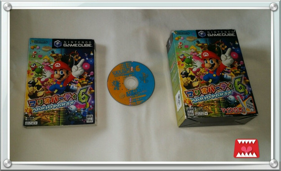 Jogo Mario Party 6 Original Japonês Game Cube (c/ Microfone)