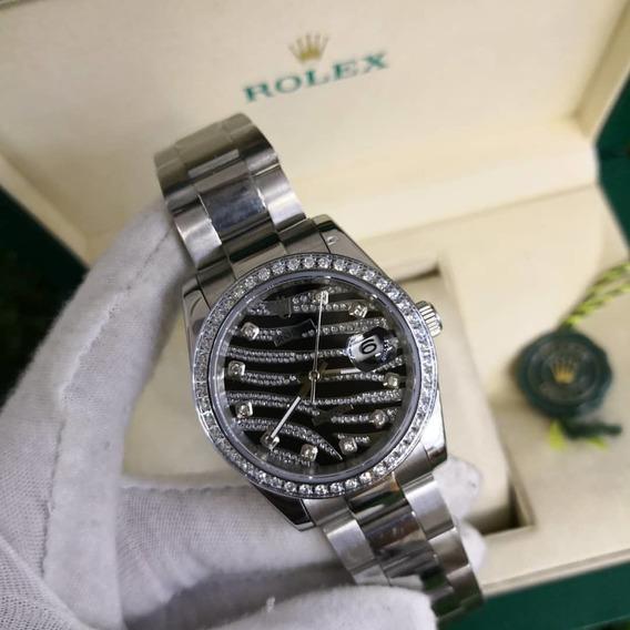 Relogio Rolex Datejust, Serie Limitada, Automatico, Wr 100mt