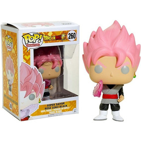 Funko Pop #260 Dragon Ball S Saiyan Rose Goku Black Nortoys
