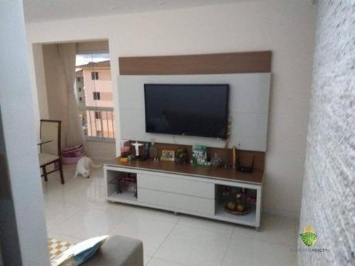 Apartamento À Venda, 49 M² Por R$ 200.000,00 - Abrantes - Lauro De Freitas/ba - Ap1083