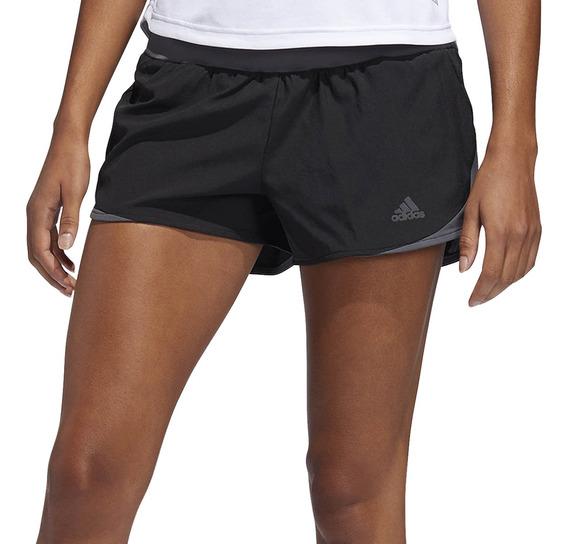 Short adidas Running Run It Mujer Ng/go