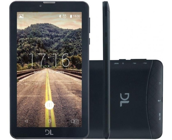 Tablet Dl Mobi Tab Preto 7 Wi-fi 8gb Câmera Digital
