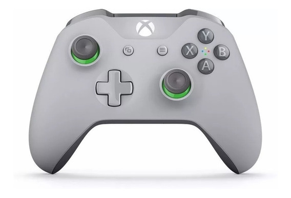Controle Xbox One S Groober Cinza Microsoft
